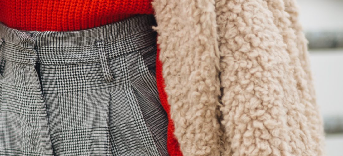 Bold Sweater + Trousers